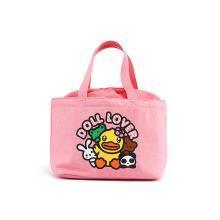 B.duck小黄鸭Buffy鸭妹手提袋保温袋铝箔手午餐包便当包