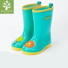 KK樹兒童雨鞋雨靴男女童幼兒園寶寶防水雨鞋卡通可愛水鞋夏季 KQ15424  包郵