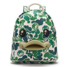 B.Duck小黄鸭3D鸭嘴儿童背包男女亲子印花休闲双肩包幼儿园书包