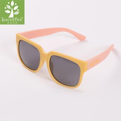 KK樹兒童太陽鏡男女童眼鏡偏光潮女寶寶墨鏡正品防紫外線男童個性 KQ28205  包郵