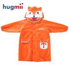 hugmii兒童雨衣立體卡通造型小學生幼兒園男童女童小孩卡通雨衣