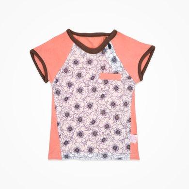 丑丑婴幼 夏季新款男童短袖圆领上衣男宝宝时尚拼接T恤CHE219X