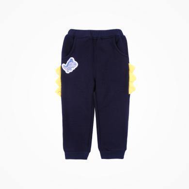 丑丑嬰幼 男寶寶外服童褲秋冬新款卡通長褲1歲半-5歲 CME041X