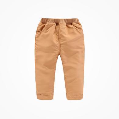 丑丑嬰幼 男寶寶保暖長褲冬季男童休閑加絨長褲1-4歲  CME046X