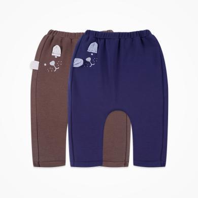 丑丑嬰幼 男寶寶卡通哈倫長褲 春秋季男童休閑長褲1-2歲 CNE015X