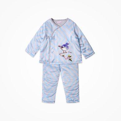丑丑嬰幼 冬季男寶寶側開棉套裝男童斜襟卡通棉套裝 6個月-3歲 CKE762W