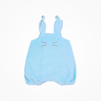 丑丑嬰幼 男女寶寶可愛背帶褲男女童秋冬加絨卡通背帶短褲 CIE068T
