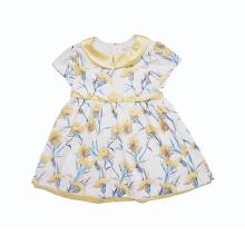 丑丑嬰幼 春季新款女寶寶康乃馨印花連衣裙1歲半-4歲CLE399W