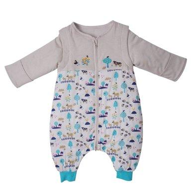 丑丑婴幼 新款新生儿保暖可脱卸分腿睡袋6个月-2岁