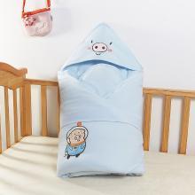 班杰威爾新生兒包被純棉嬰兒抱被春秋抱毯夾棉保暖被子襁褓包初生寶寶兩用