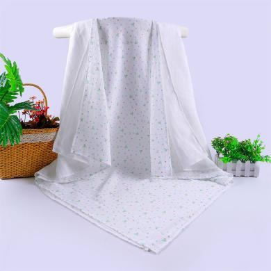 丑丑嬰幼 嬰幼兒包巾、浴巾新款四季純棉新生兒紗布多用巾(兩件裝)CNA407D