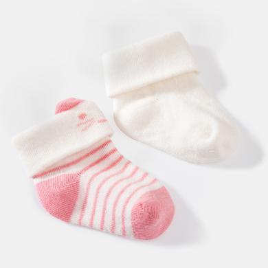 【Cottonshop棉店】秋冬新品妙貝親新生嬰兒胎襪夏季0-4月嬰兒襪子薄棉初生寶寶可愛春秋筒襪