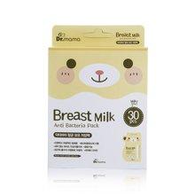 【韩国】Dr.mama便携母乳保鲜袋保存袋储奶袋 30袋/盒