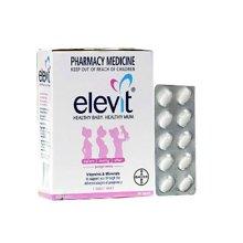 澳大利亚Elevit爱乐维叶酸片孕妇维生素营养 100片/盒