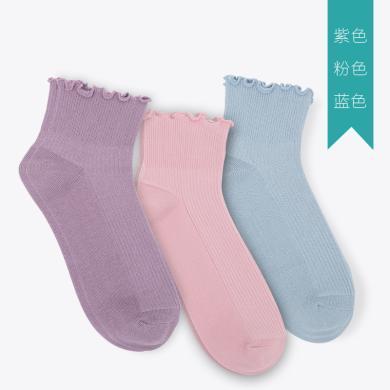 【三雙裝】小雅象 月子襪夏季薄款孕婦產婦吸汗透氣松口襪不勒腳純棉襪子女