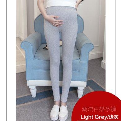 妃孕宝 春秋装新款时尚修身显瘦孕妇托腹小脚裤打底长裤