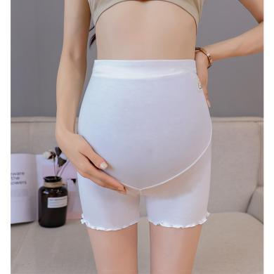 摩登孕妈 春夏装新款孕妇防走光内裤薄款打底裤托腹短裤孕妇安全裤