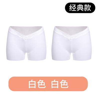 摩登孕媽 夏季新款薄款安全褲防走光低腰孕婦裝兩條裝短褲百搭打底褲