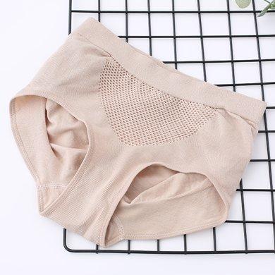 妃孕宝 新款提臀塑身裤大码棉?#25159;强?#25910;腹内裤女士产后收腹裤头