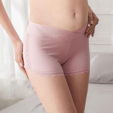 妃孕寶 新款孕婦安全褲防走光女內褲夏季薄款懷孕期托腹打底褲短褲子女