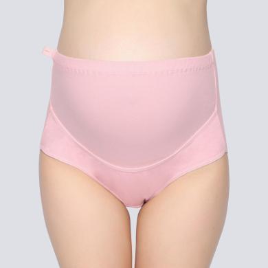 摩登孕媽 新款孕婦內褲彈力高腰托腹褲可調節短褲純色大碼孕婦裝