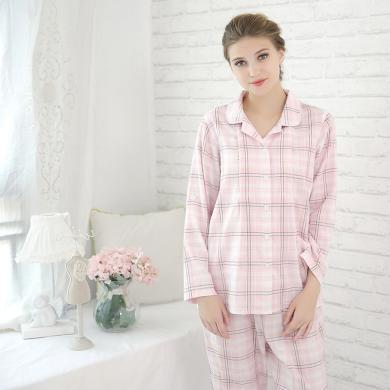 添香純棉月子服孕婦產后喂奶哺乳衣長袖睡衣居家服四季