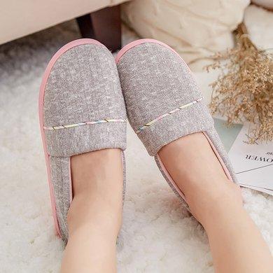 婧麒月子鞋秋冬季加厚軟底防滑孕產婦用品產后拖鞋平底室內坐月子  jxz0164