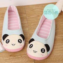 婧麒月子鞋春秋产妇产后包跟软底鞋孕妇鞋春秋季大码防滑坐月子鞋  J849305