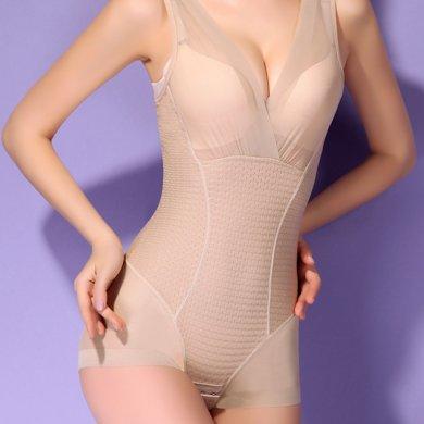妃孕寶 新款產后瘦身美體收腹提臀束腰緊身塑身無痕連體衣