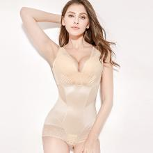 摩登孕媽 新款蕾絲連體塑身衣產后收腹束腰提臀塑形美體內衣女