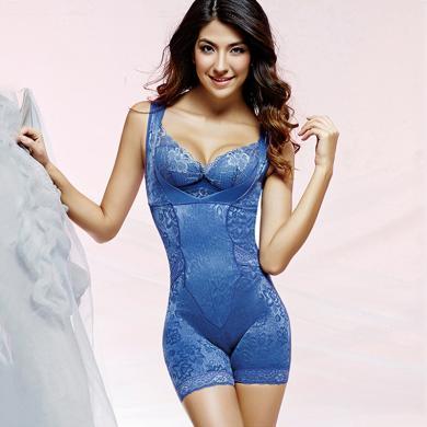 摩登孕妈 秋冬装新款后脱式连体塑身衣收腹提臀托胸塑形美体内衣女