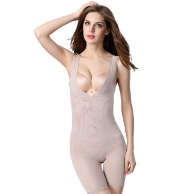 摩登孕媽 新款產后修身塑形內衣彈力緊身后脫式連體塑身衣提臀收腹美體內衣女