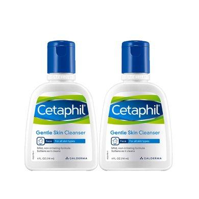 絲塔芙(Cetaphil)潔面乳118ml*2雙支裝(潔面膏 男女皆可用洗面奶)