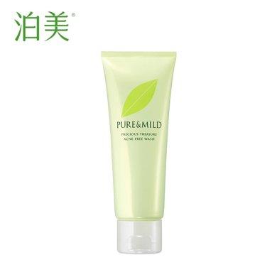 PURE&MILD/泊美鮮純珍萃系列 綠茶控油凈痘潔面膏120g 溫和清潔