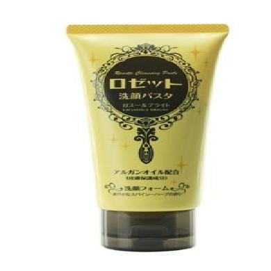 日本ROSETTE詩留美屋海泥洗面奶 黃色 提亮膚色 120g/支