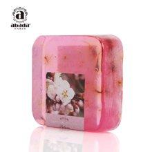 法國雅比特櫻花美白保濕凈膚去黃提亮膚色潔面精油手工皂105g