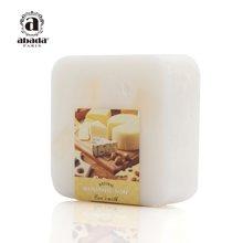 法国abada天然羊奶美白补水保湿去黄气洁面精油手工皂105g