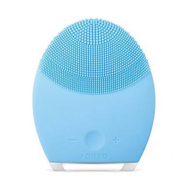 瑞典FOREO LUNA 2  露娜家用电动充电式毛孔清洁美容洗脸刷洁面仪 蓝色(MINI 2 PLUS)