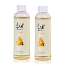 2瓶装 韩国papa recipe春雨蜂蜜 保湿爽肤水 200ml/瓶