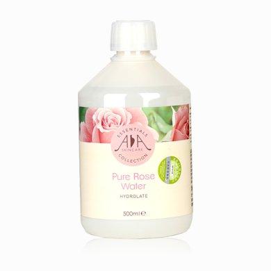 英國AA網玫瑰花水純露500ml補水保濕噴霧提亮膚色大瓶爽膚水