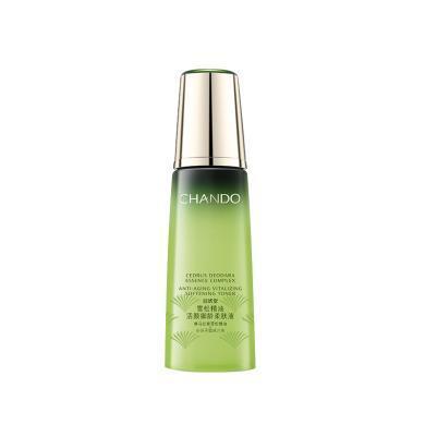 自然堂雪松精油活顏御齡柔膚液 補水保濕淡化細紋抗皺修護