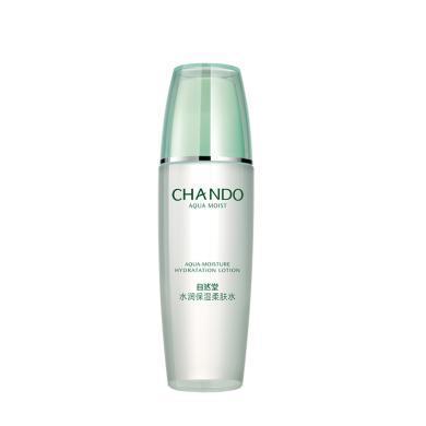 CHANDO/自然堂水潤保濕柔膚水 135ml 補水保濕清透鎖水 專柜正品
