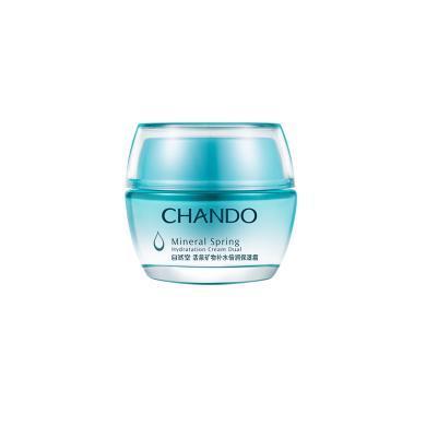 CHANDO/自然堂活泉礦物補水倍潤保濕霜50g 補水保濕滋潤控油面霜