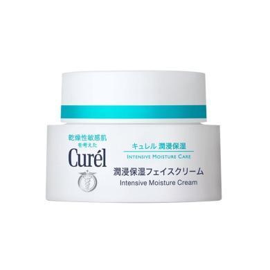 日本花王Curel珂潤潤浸保濕面霜 40g
