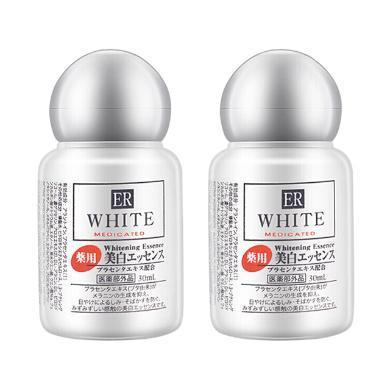 【支持购物卡】2瓶 日本大创胎盘素ER亮白淡斑精华液30毫升
