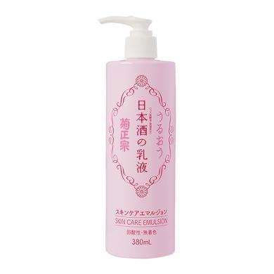 日本菊正宗清酒古法釀造補水保濕乳液 380ml