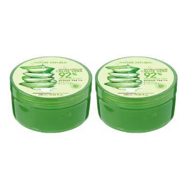 【2罐】韓國 Nature Republic/自然樂園蘆薈膠 保濕祛痘 30ml/罐
