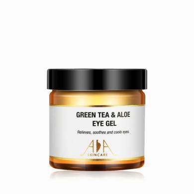 英國AA網綠茶蘆薈眼膠60ml眼霜補水保濕眼膜淡化黑眼圈干細紋