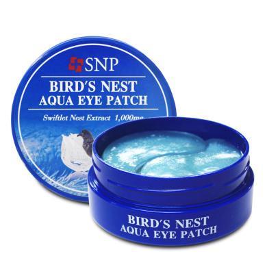 韓國SNP海洋燕窩水庫補水精華凝膠去眼袋眼膜貼(30對)75g