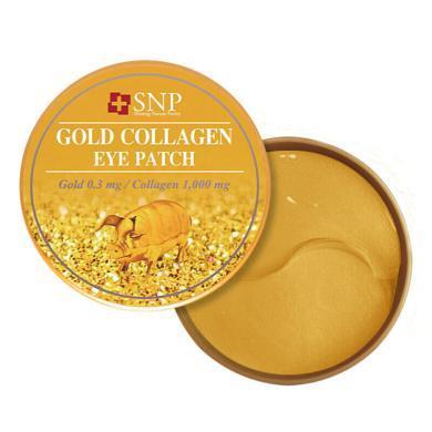 韓國進口SNP黃金膠原蛋白抗皺去眼袋眼膜貼(30對)75g
